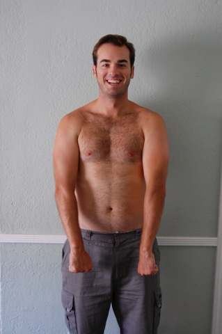 Jeff before Sky Fit Challenge