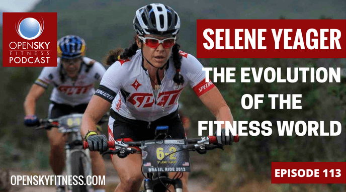 Selene Yeager Evolution of the Fitness World Open Sky FItness