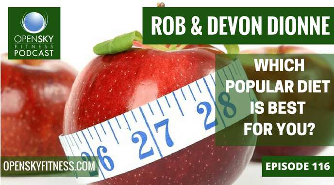 Which Popular Diet is Best For You? Open Sky Fitness Podcast