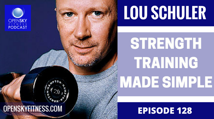 Lou Schuler Strength Training Made Simple Open Sky Fitness podcast