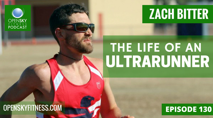 Zach Bitter:The Life of An Ultrarunner Open Sky Fitness Podcast