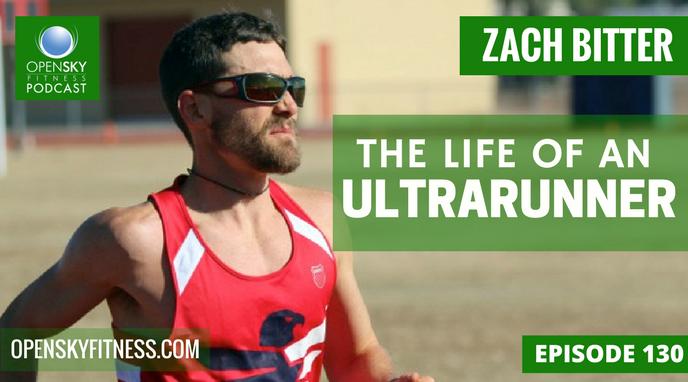 Zach Bitter:The Life of An Ultrarunner Open Sky Fitness Podcast