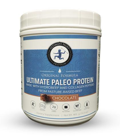 Paleo Protein Powder in Review Open Sky Fitness Blog Ultimate Paleo Protein Chocolate
