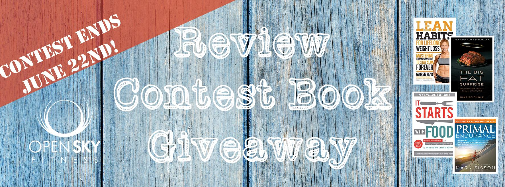 Open Sky Fitness Contest Book Giveaway