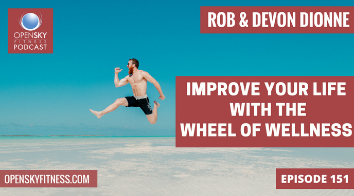 IMPROVE YOUR LIFE WITH THE WHEEL OF WELLNESS OPEN SKY FITNESS PODCAST EPISODE 115