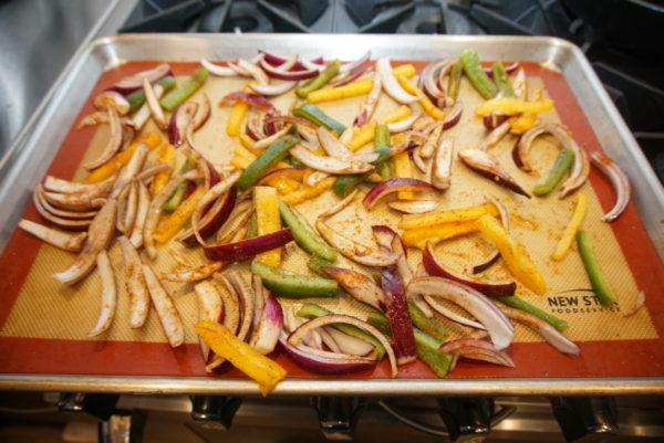 Sheet Pan with veggies