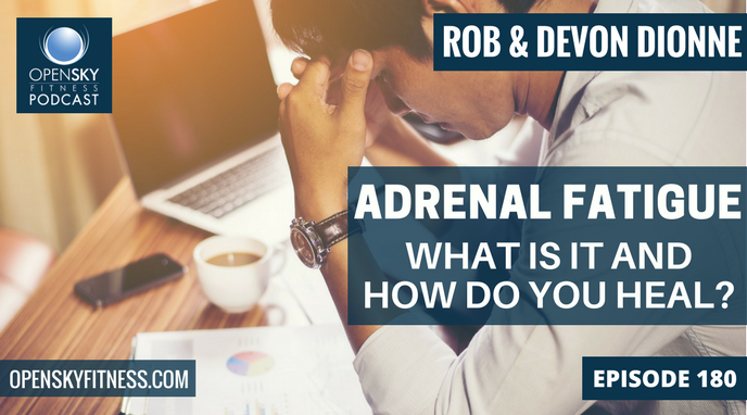 Adrenal Fatigue_ What Is It and How Do You Heal_ - Ep. 180 OPEN SKY FITNESS PODCAST