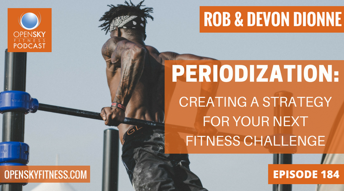 Periodization: Creating a Strategy for Your Next Fitness Challenge - Ep 184 OPEN SKY FITNESS PODCAST