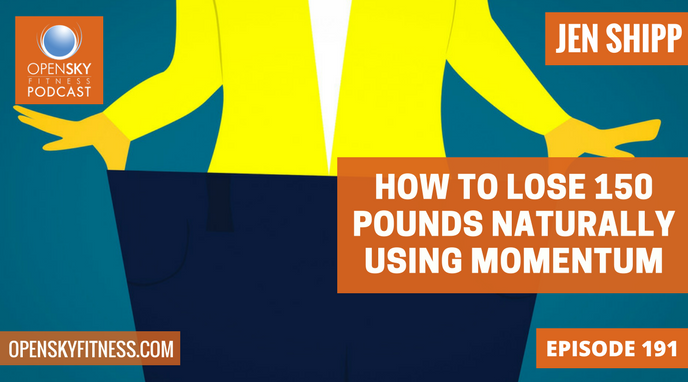 How to Lose 150 Pounds Naturally Using Momentum