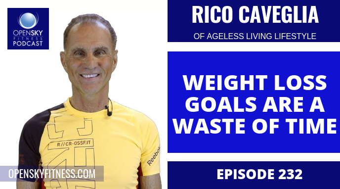 Weight Loss Goals Are A Waste Of Time with Rico Caveglia - Ep. 232